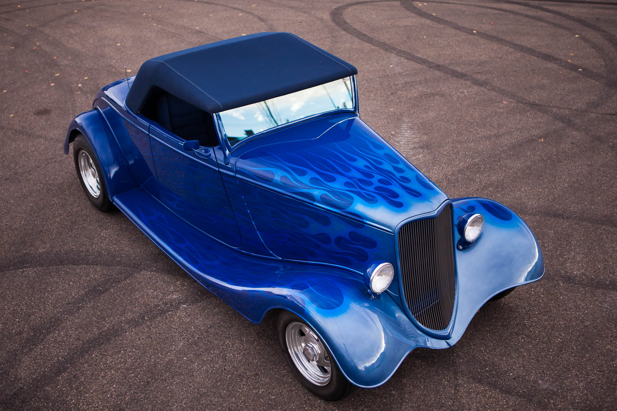 What Is Transmission >> 1933 Full-Fender Ford Roadster - For Sale - The Iron Garage