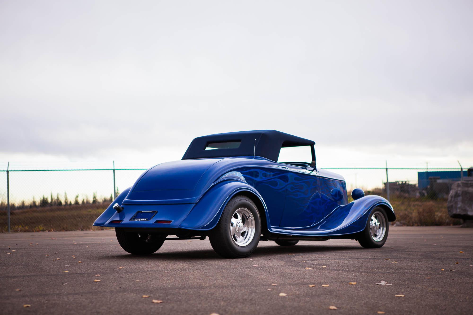 1933 Full-Fender Ford Roadster - For Sale - The Iron Garage