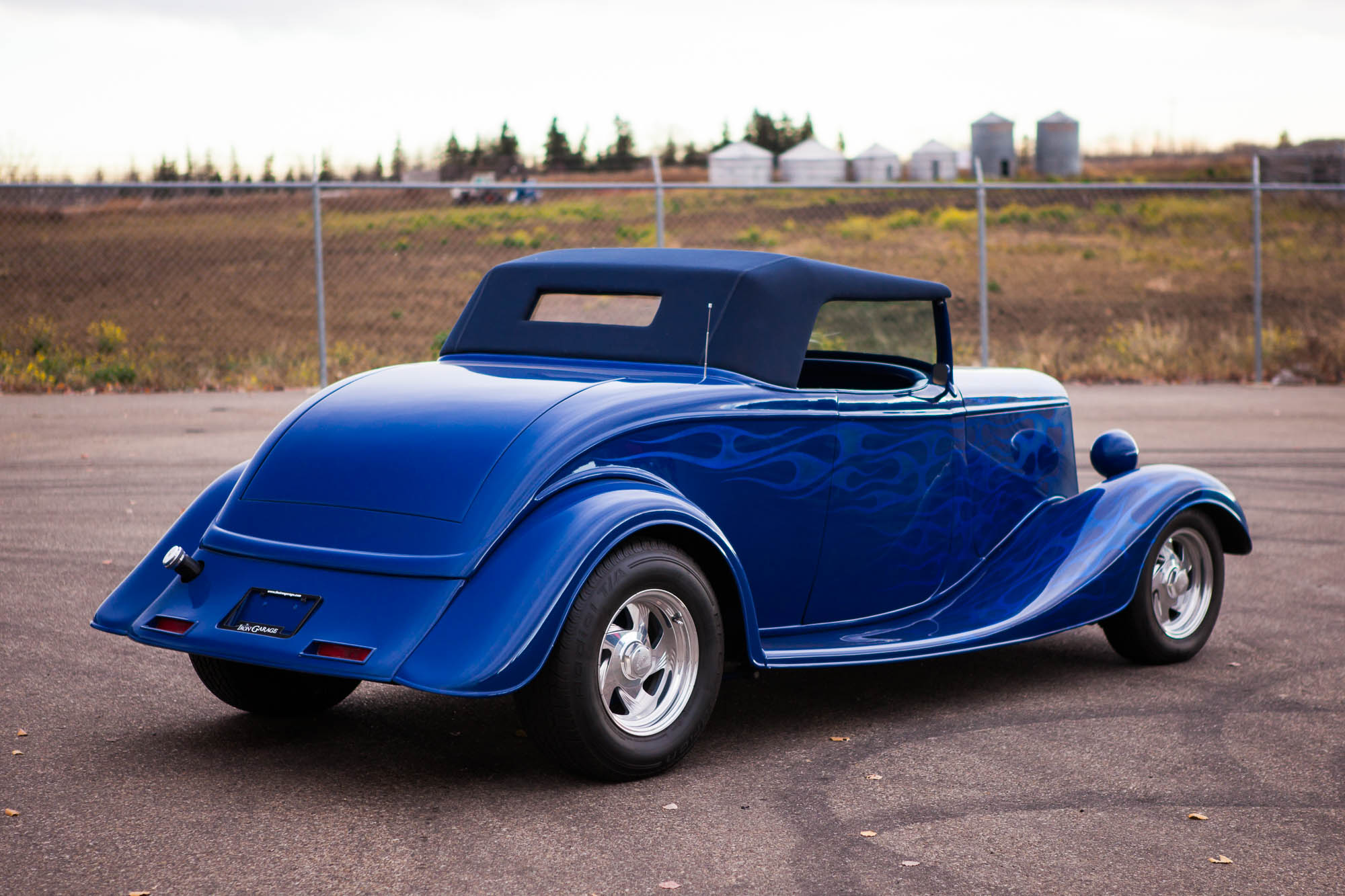 Chevy 3 3 >> 1933 Full-Fender Ford Roadster - For Sale - The Iron Garage