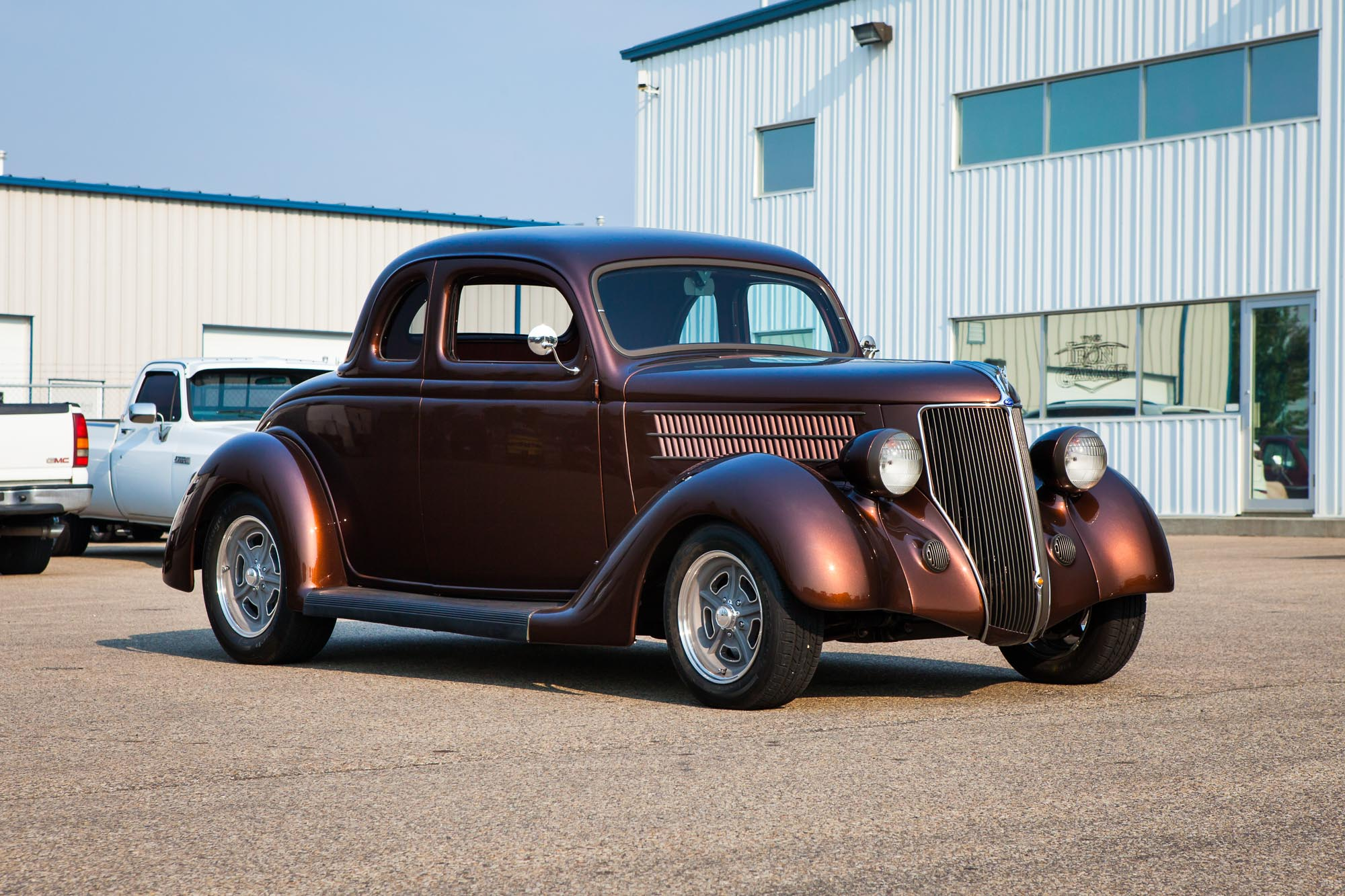1936 Ford Deluxe Coupe For Sale The Iron Garage