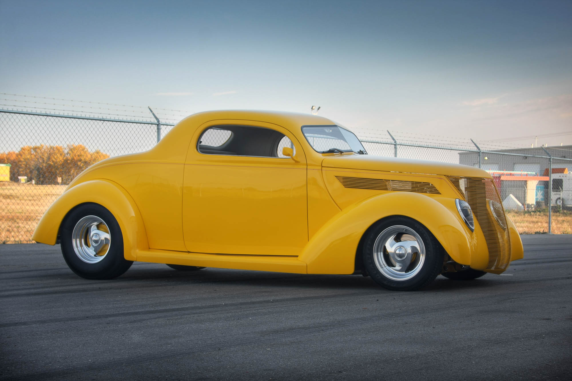 1937 Ford Coupe Sold The Iron Garage