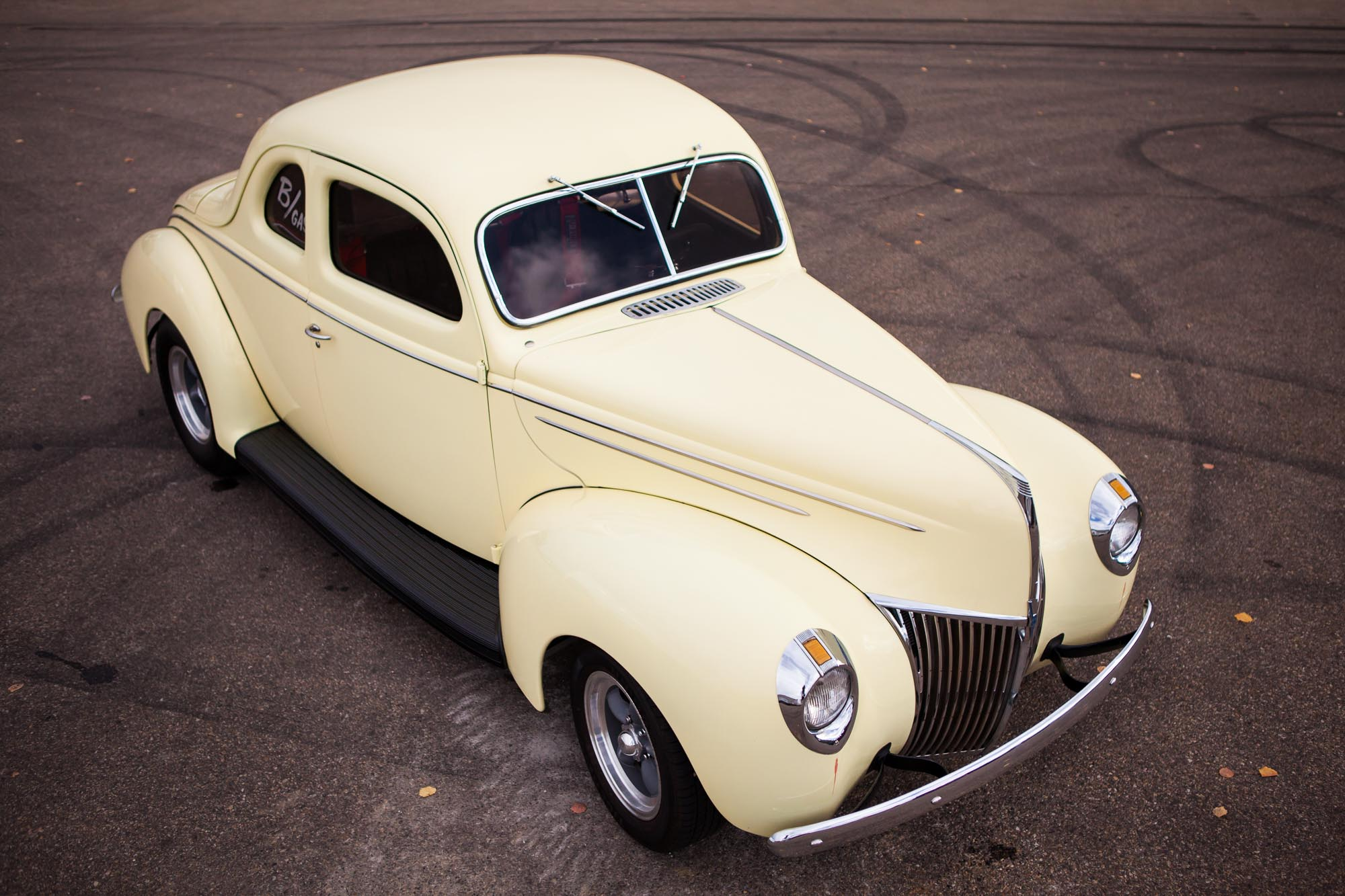 1939 Ford Custom Coupe For Sale The Iron Garage