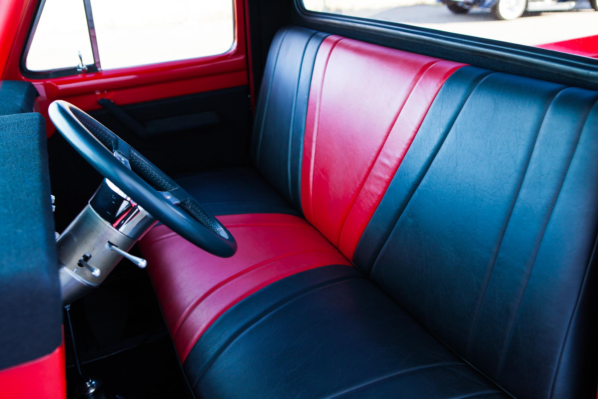 1955 Ford F 100 Custom For Sale The Iron Garage F100 Seat