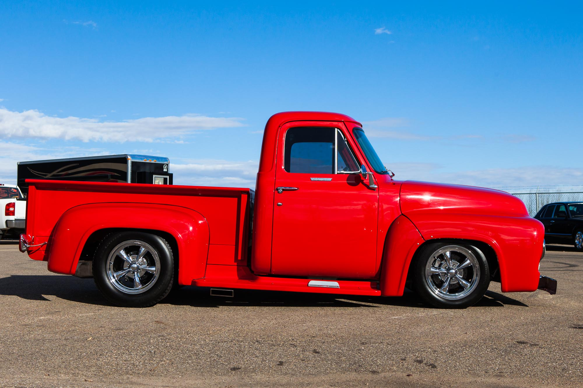 1955 Ford F 100 Custom For Sale The Iron Garage F100 Project