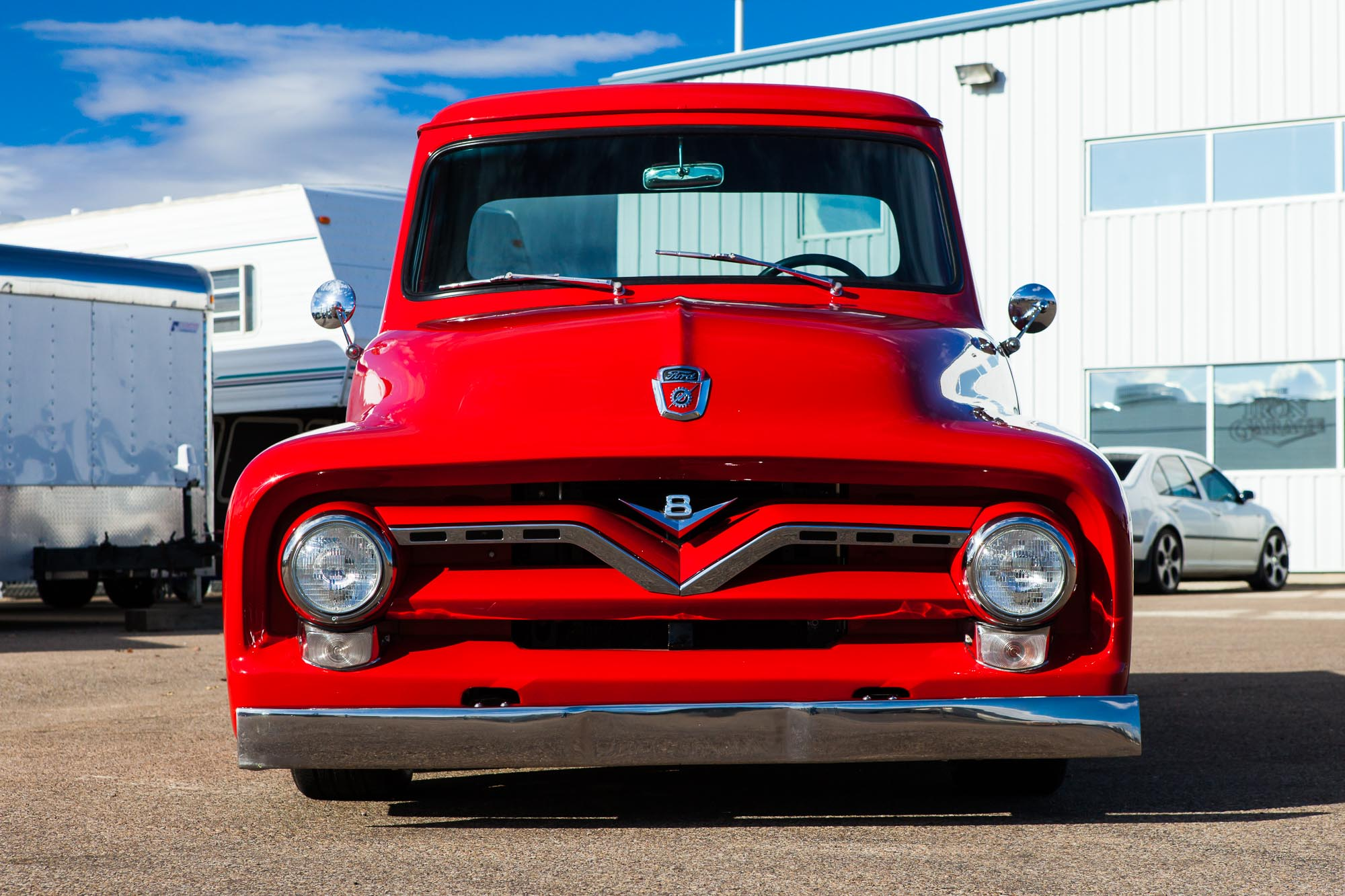 1955 Ford F 100 Custom For Sale The Iron Garage F100 Paint