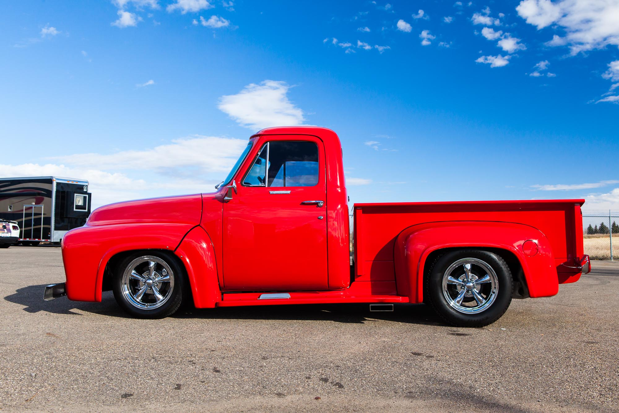 1955 Ford F-100 Custom - Sold - The Iron Garage