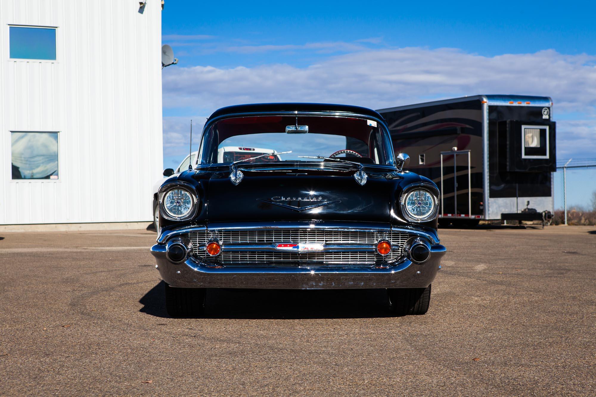 1957 Chevy 150 Custom Sold The Iron Garage