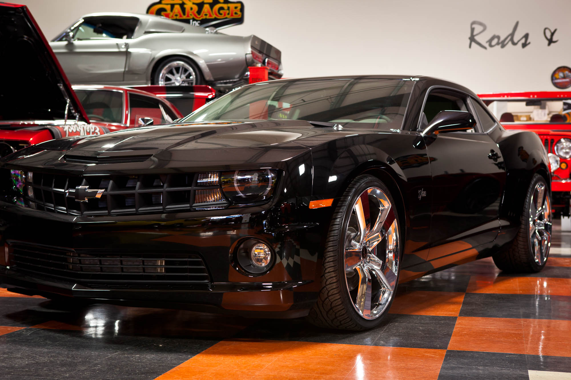 High Performance Tires >> 2011 Iron Editon Camaro z28 - Sold - The Iron Garage