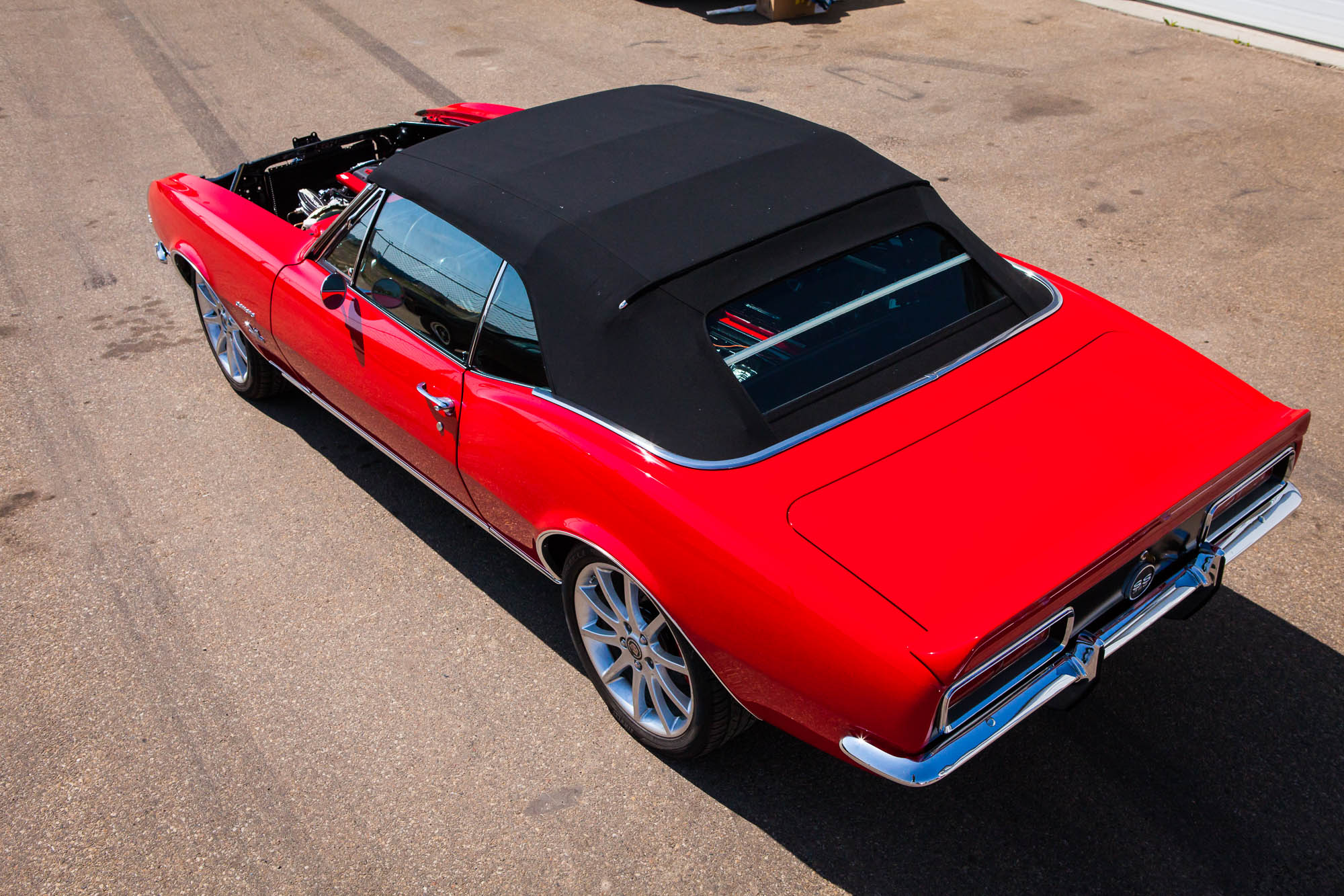 What Is Suspension In Car >> 1967 Camaro Convertible - The Iron Garage