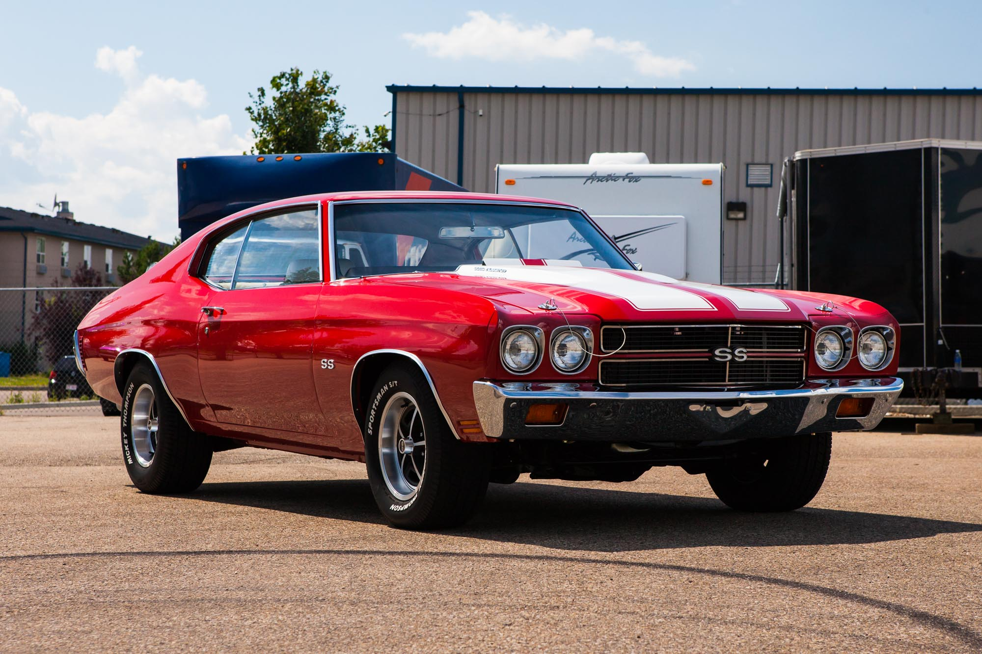 Magnum 500 Wheels >> 1970 Chevelle SS - The Iron Garage